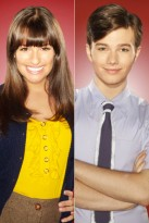 Chris Colfer & Lea Michele - Chris Colfer - Lea Michele - Glee Interview: Chris Colfer & Lea Michele - Glee Interiews - Marie Claire - Marie Claire UK