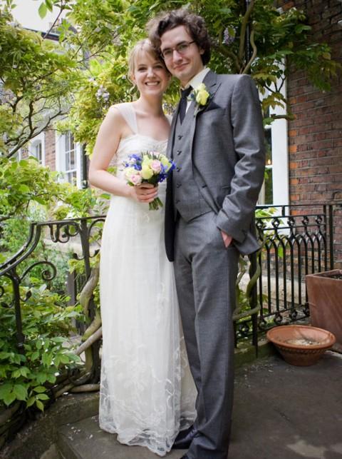 Rebecca Dobdins Stylish Real Life Brides