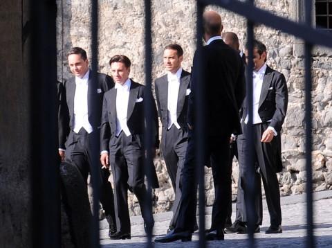 wedding - italy - pictures - bernie ecclestone - james stunt