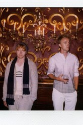 rupert grint - tom felton - band of outsiders - harry potter - modelling - campaign - fashion