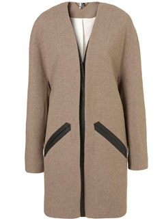 Izzy Lane for Topshop wool coat