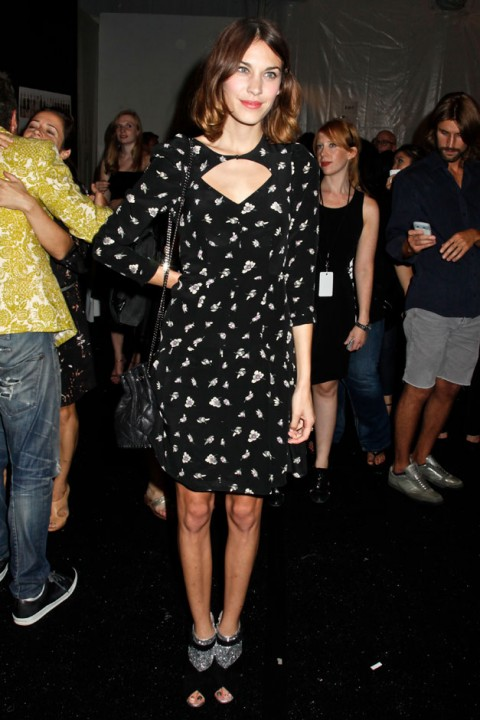 new york fashion week - spring/summer 2012 - front row - pictures - celebrity - celebrities - fashion