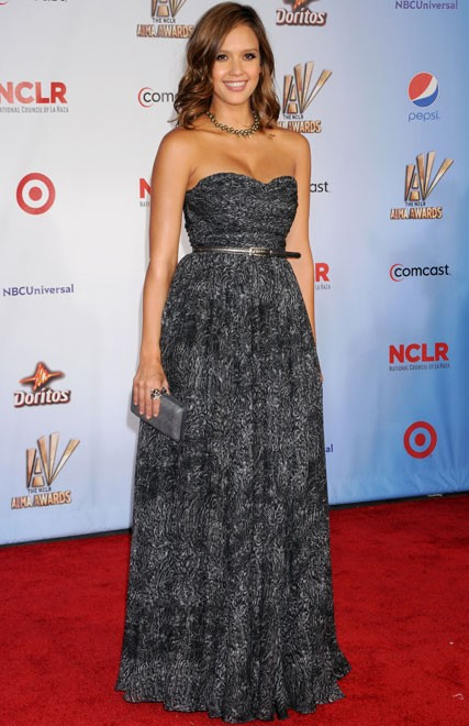 Jesica Alba at the 2011 ALMA Awards