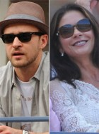 Justin Timberlake, Catherine Zeta-Jones, Bradley Cooper - Justin Timberlake - Catherine Zeta-Jones - Bradley Cooper - Stars hit US Open 2011 - US Open - Marie Claire - Marie Claire UK