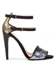 Zara glitter heels