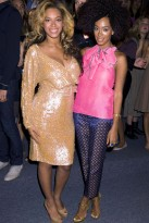 Beyonce - Blooming Beyonce dazzles at New York Fashion Week - Beyonce Knowles - Beyonce pregnant - Beyonce baby - Marie Claire - Marie Claire UK