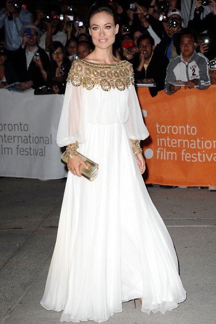 Olivia Wilde at the Toronto Film Festival