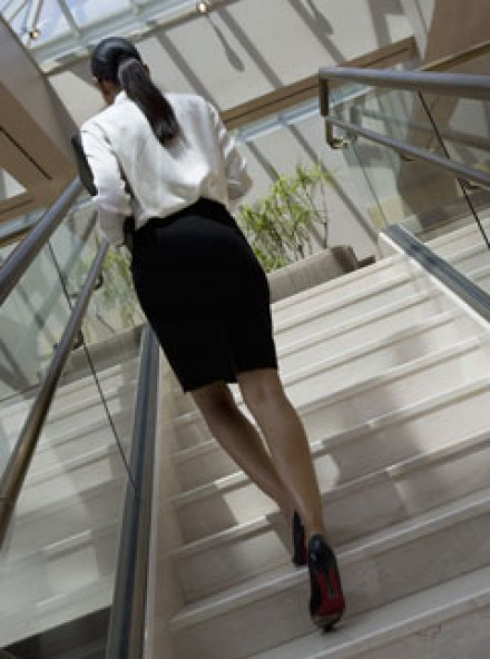 Wearing a skirt boosts your career'