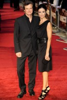 Colin Firth and Livia Giuggioli - The Debt Premiere - The Debt - Marie Claire - Marie Claire UK