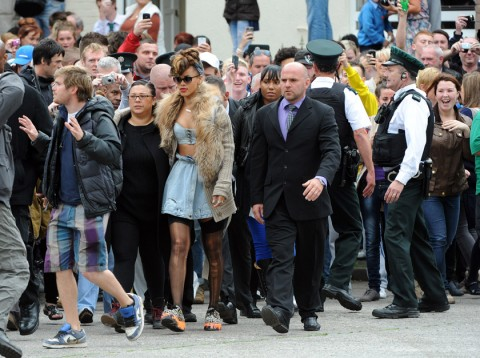 Rihanna - Rihanna&#039;s sizzling video shoot - Rihanna Ireland - Rihanna new video - Marie Claire - Marie Claire UK