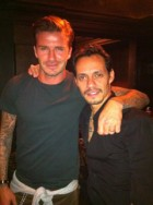 David Beckham & Marc Anthony - Marie Claire - Marie Claire UK