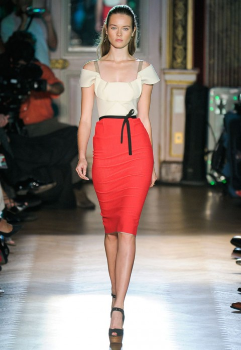 Roland Mouret Spring Summer 2012 Paris Fashion Week