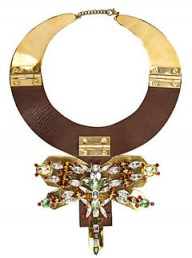River Island Dragonfly plate necklace - Fashion Buy of the Day - Marie Claire - Marie Claire UK