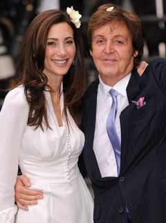 Paul McCartney & Nancy Shevell - Paul McCartney marries Nancy Shevell - Paul McCartney wedding - Marie Clarie - Marie Claire UK