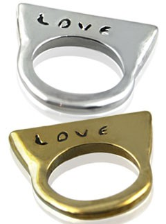 Julia Burness Love rings