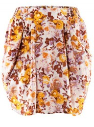H&amp;M floral print skirt - fashion - shopping - style - highstreet - high street