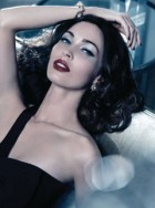 megan fox - giorgio armani beauty - christmas campaign - megan fox pictures