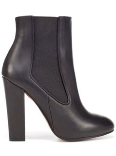 Zara black ankle boots LP
