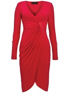 Gok for Tu wrap dress - sainsburys - fashion