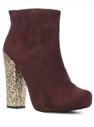 New Look glitter heel boots - winter boots - fashion boots