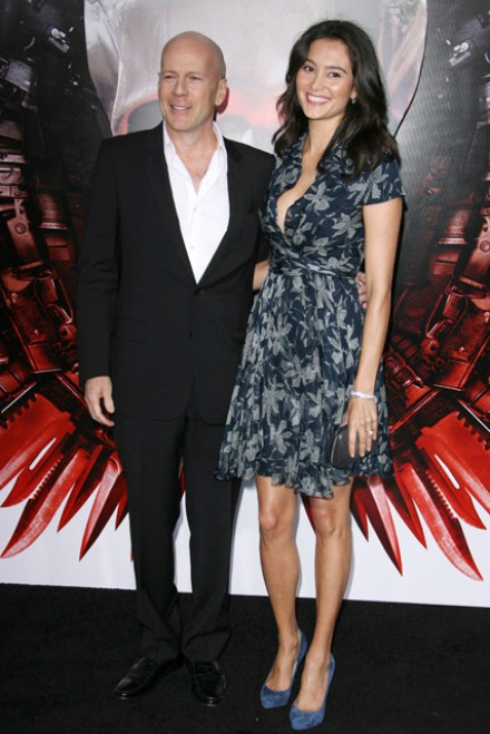 Bruce Willis and Emma Heming-Willis Garticle