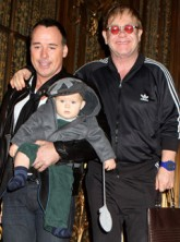 Elton John & David Furnish Elton John - David Furnish - Elton John & David Furnish baby - Zachary Furnish-John - Marie Claire - Marie Clarie UK