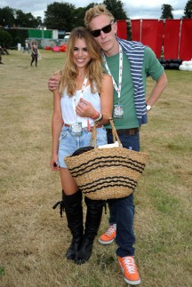 Billie Piper and husband Lawrence Fox