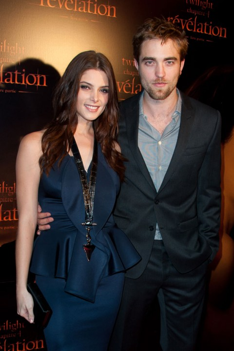 twilight - breaking dawn - premiere - robert pattinson - ashley greene - nikki reed - jackson rathbone