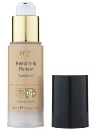 No7 Restore and Renew foundation - makeup - make up