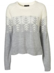 Topshop snowflake jumper - winter knits - winter knitwear - fashion