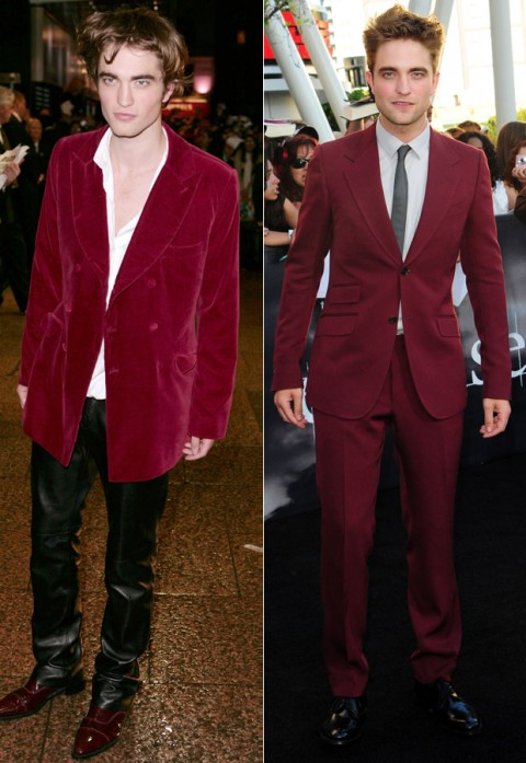 Robert Pattinson - Twilight Stars: Then and Now - Twilight - Twilight Breaking Dawn - Breaking Dawn - Premiere - Robert Pattinson - Kristen Stewart - Taylor Lautner - Marie Claire - Marie Claire UK