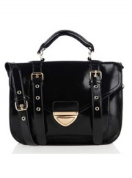 Warehouse patent satchel, �40 - Fashion Buy of the Day - Marie Claire - Marie Claire UK