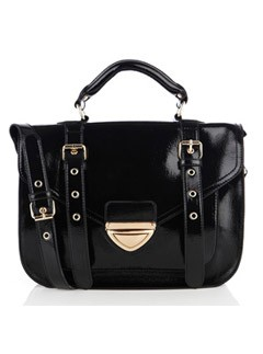Warehouse patent satchel, &pound;40 - Fashion Buy of the Day - Marie Claire - Marie Claire UK