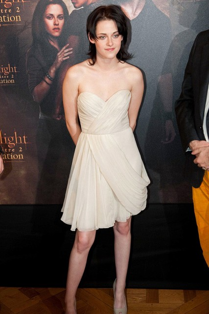 Kristen Stewart, Twilight, Red Carpet Celebrity Style, Premiere Style, Twilight, Robert Pattinson, Breaking Dawn Part One, Eclipse, Twilight saga, Twilight New Moon