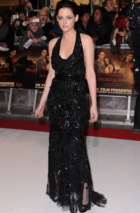 Kristen Stewart - Twilight Breaking Dawn premiere - Twilight Premiere - Twlight Breaking Dawn - Twilight - BReaking Dawn UK premiere - Robert Pattinson - Kristen Stewart - Taylor Lautner - Marie Claire - Marie Claire UK
