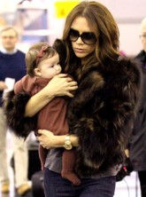 Victoria Beckham & Harper Beckham - Victoria Beckham - Harper Beckham - Harper Seven - Marie Claire - Marie Claire UK