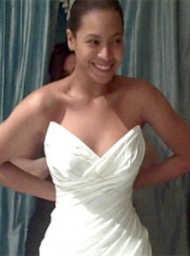 Beyonce Wedding Dress, Beyonce, Jay-Z, Beyonce wedding to Jay-Z, I Was Here, Beyonce wedding gown