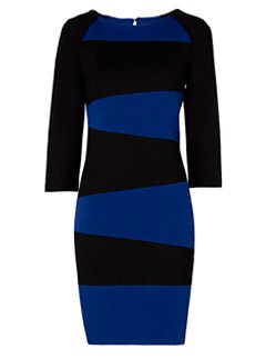 Mango bicolour dress, &pound;49.90 - Fashion Buy fo the Day - Marie Claire - Marie Claire UK