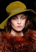 Christian Dior A/W 2011 Fashion Trends Hats