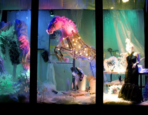 Harvey Nichols - christmas - christmas windows - shops - london - christmas window displays - festive - pictures