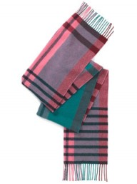 Whistles checked scarf - winter warmers - winter fashion - fashion - accessories