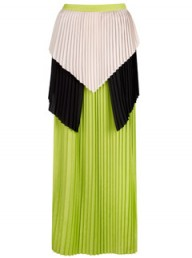 Cameo Pleated Maxi Skirt