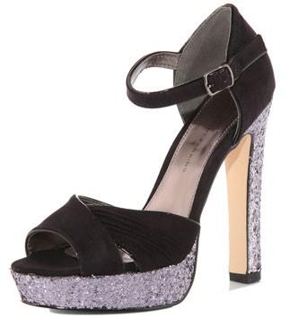 Dorothy Perkins glitter platform heels, £39
