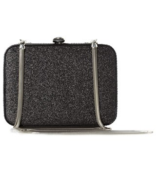 French Connection sparkly clutch, £32.50