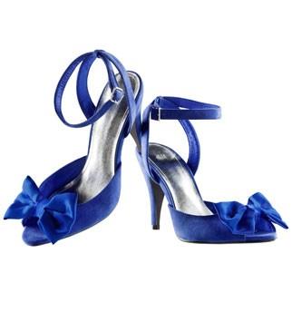 H&M bow peep-toe heels, £12.49