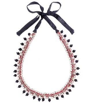 Jigsaw beaded necklace, £39