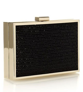 Monsoon box clutch, £35