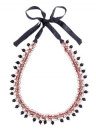 Jigsaw beaded necklace - fashion - accessories