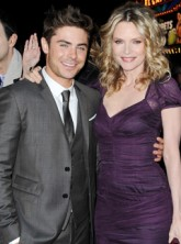 Zac Efron and Michelle Pfeiffer