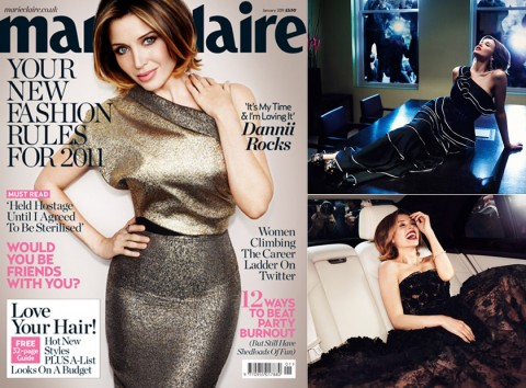 Dannii Minogue - Marie Claire&#039;s 2011 Cover Stars - Cover Stars - Cover - Marie Claire - Marie Claire UK